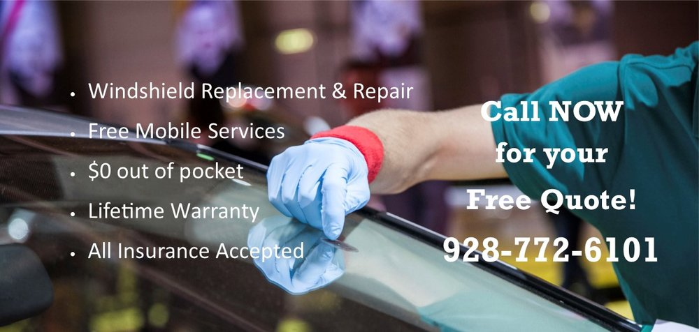 Auto Glass Quote Delectable Free Same Day Mobile Windshield Replacement  Prescott Valley