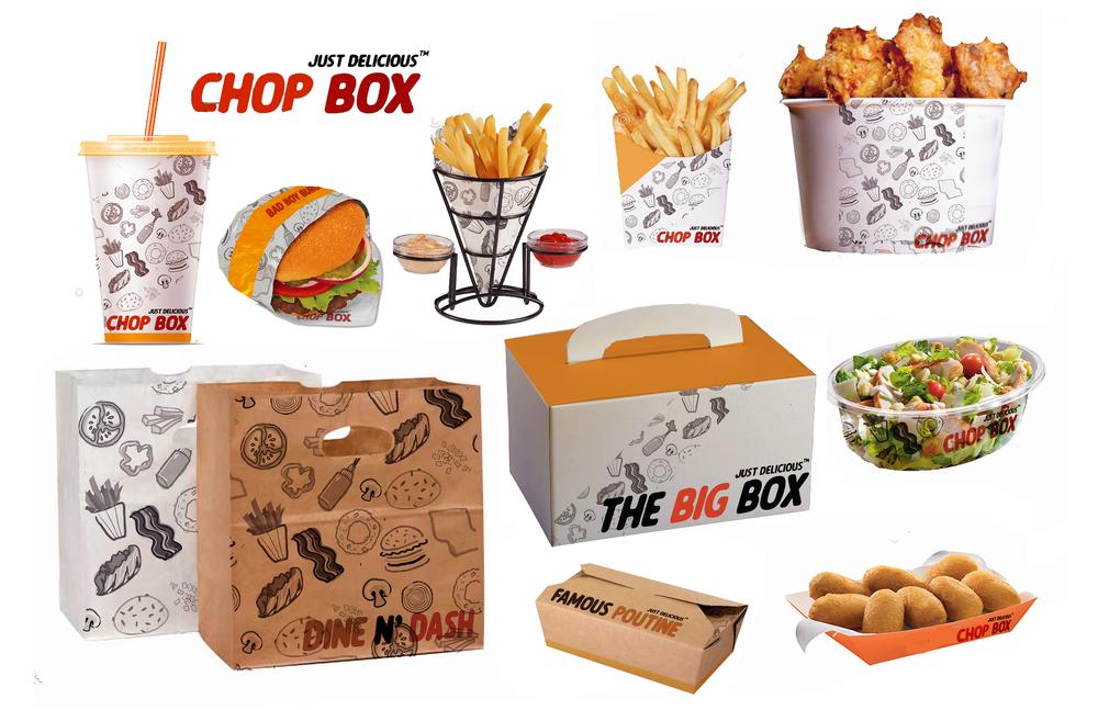 Chop Box | Packaging