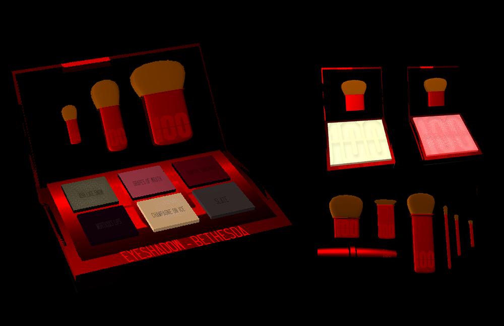 1oo Cosmetics 3D Render