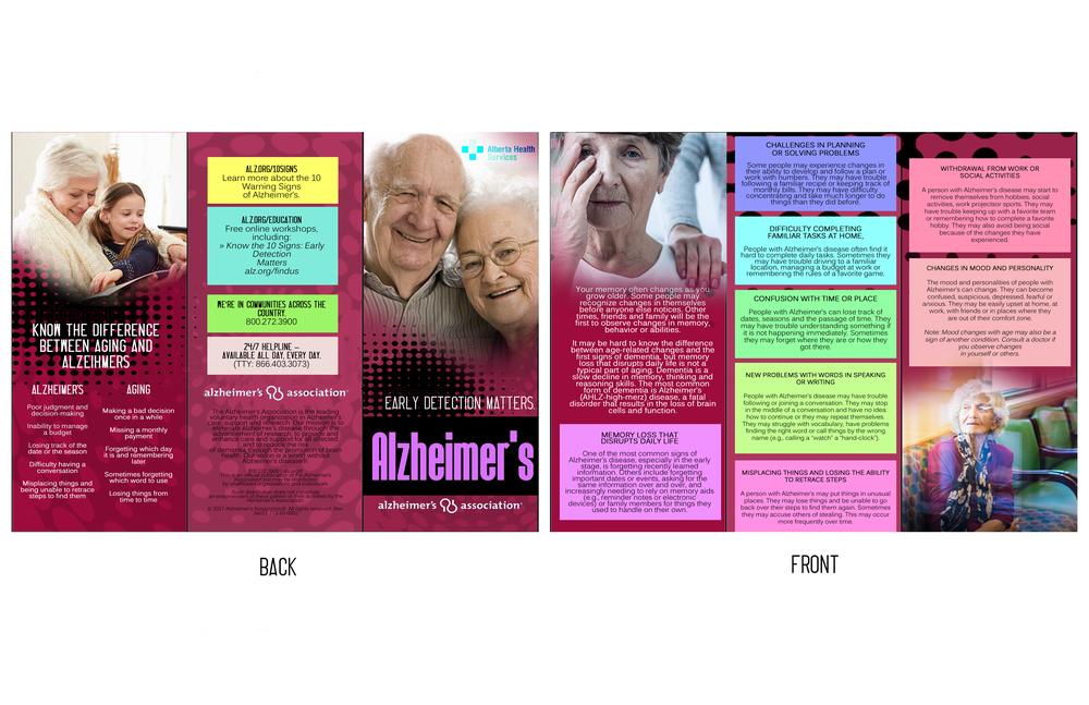 Clinic brochure - Alzheimer's