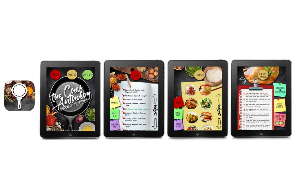 Cookbook App w/Icon and User Interface