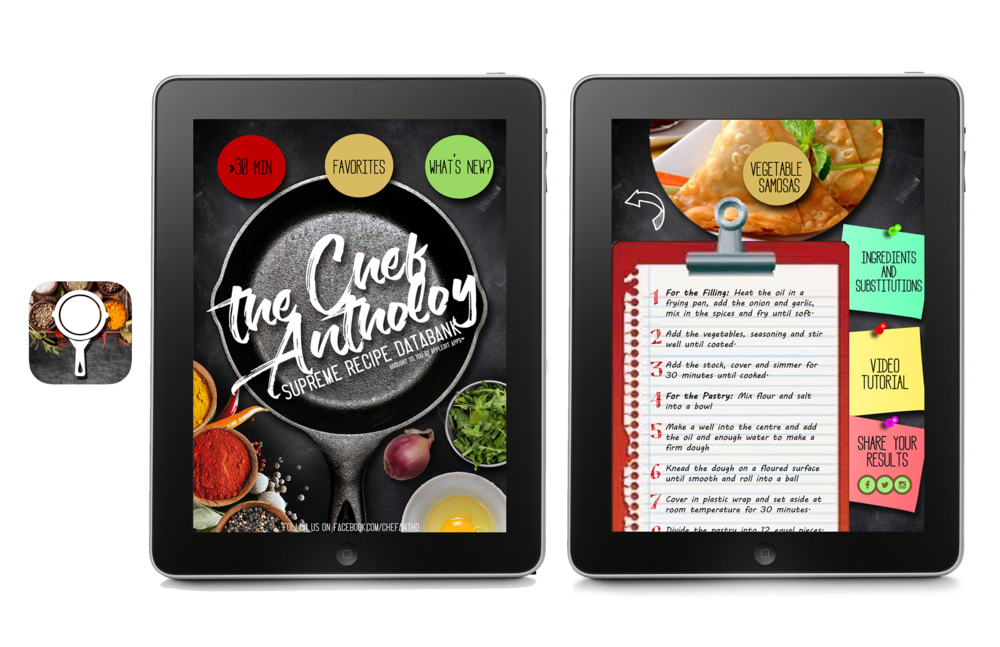 The Chef Anthology App (Close-Up)