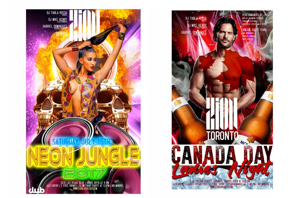 Nightclub Poster Design