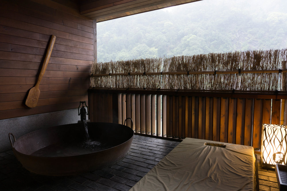 Private spa in Wulai