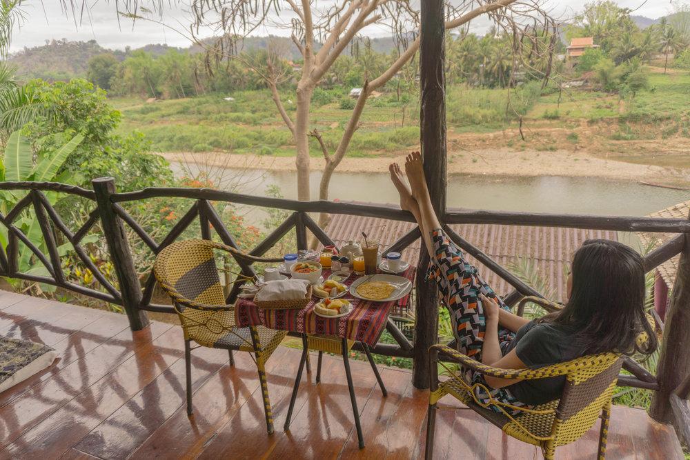 Breakfast at Thongbay