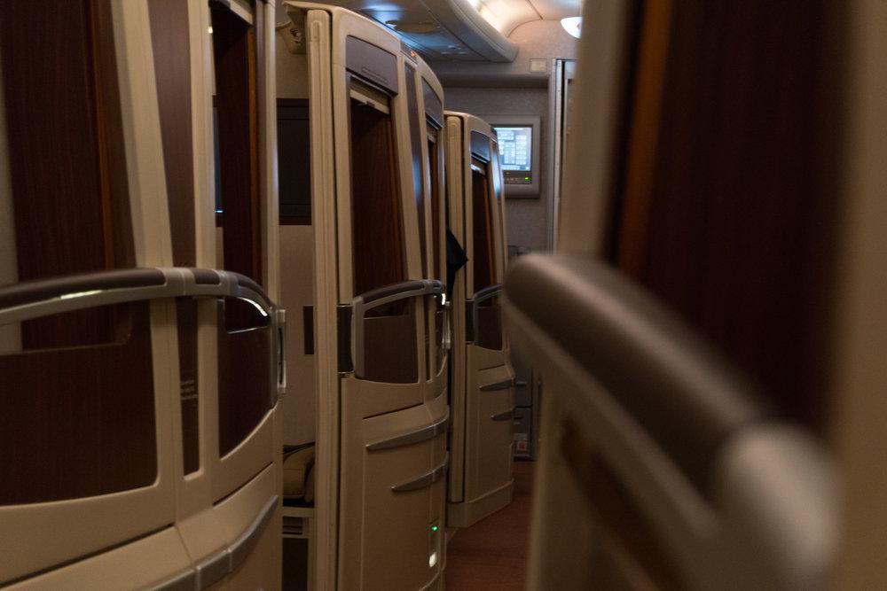 SQ A380 Suites Cabin