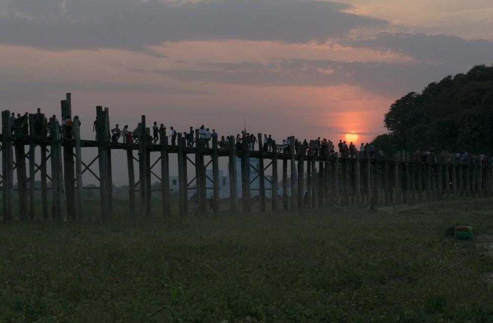 U Bein Bamboo Bridge