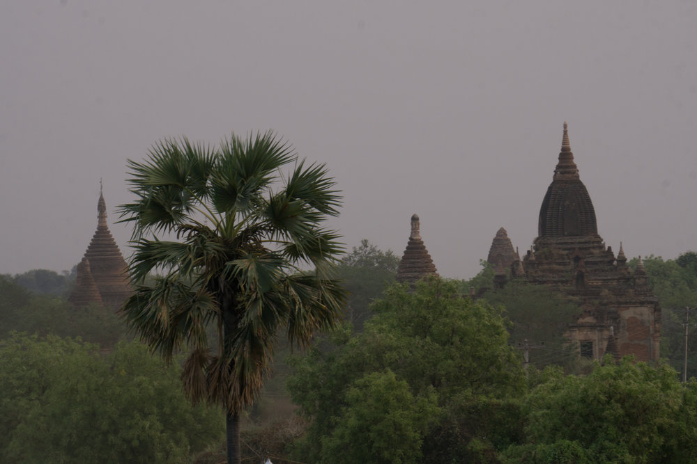 View of Bagan from the top