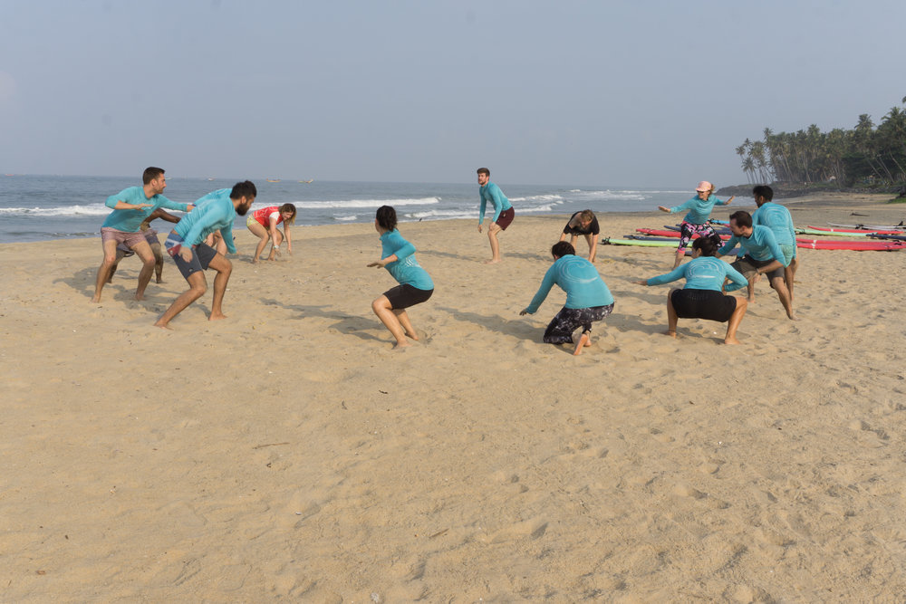 Surf lessons in Varkala