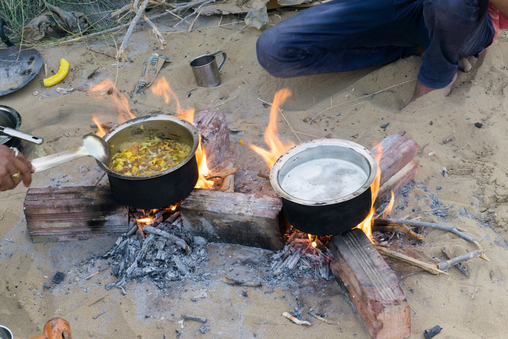 A delicious Rajasthani meal