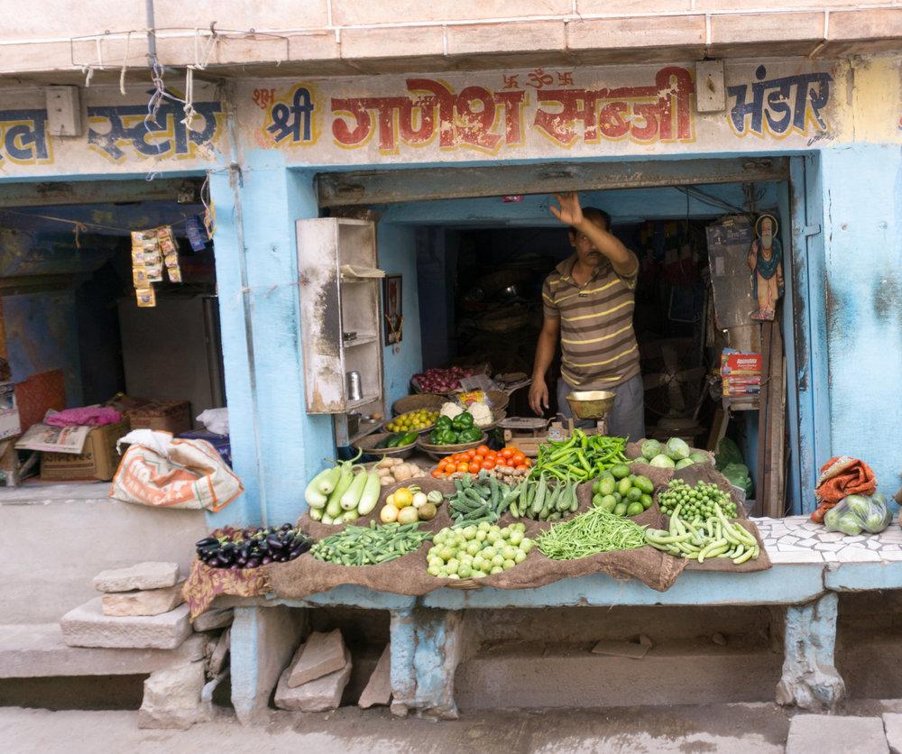 Blue City shops