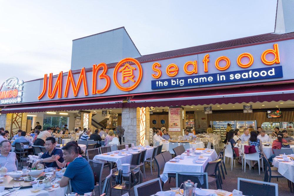 The local favorite - Jumbo Seafood