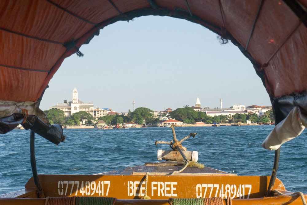 Stone Town from the water