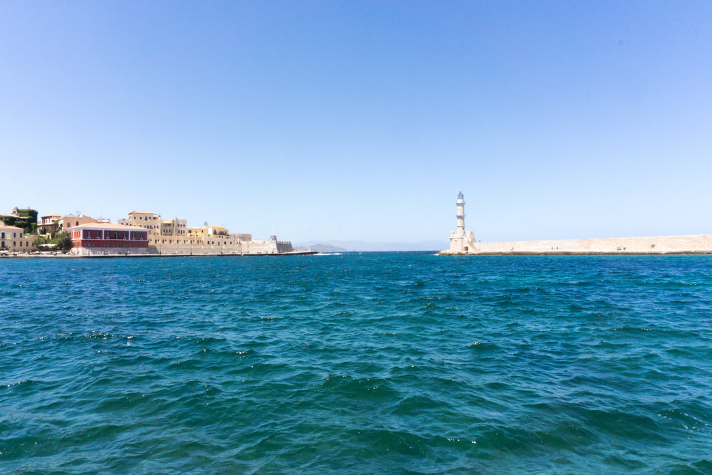 The Venetians settled the city of Chania, little touches of Italy abound.