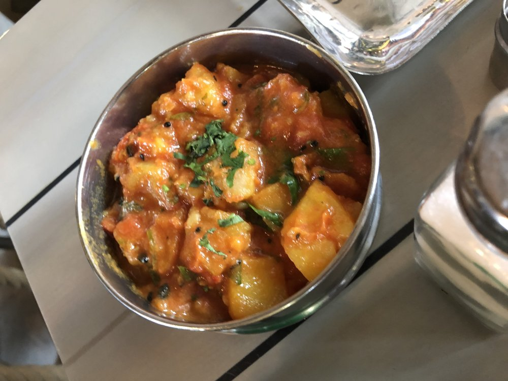 Tomato and Potato Curry