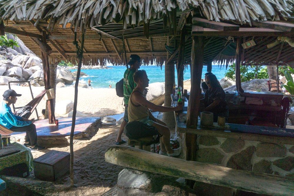 Our favorite beach bar