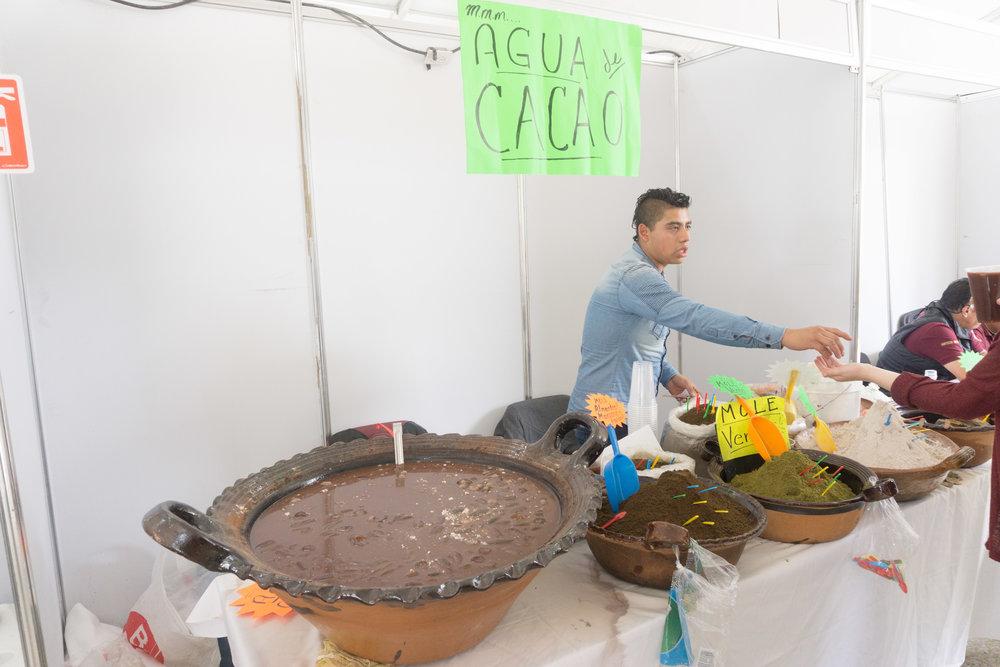 Incredible drinking chocolate from Oaxaca