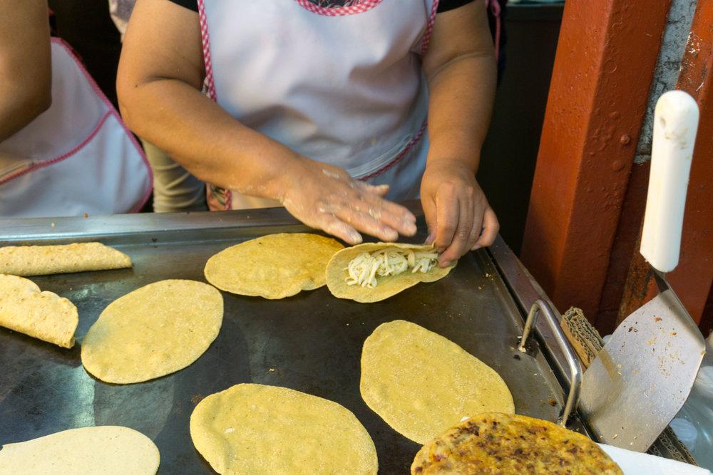 Step 2 - Incredible Oaxaca cheese