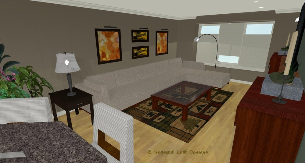 RD Sitting Area 3D View 1