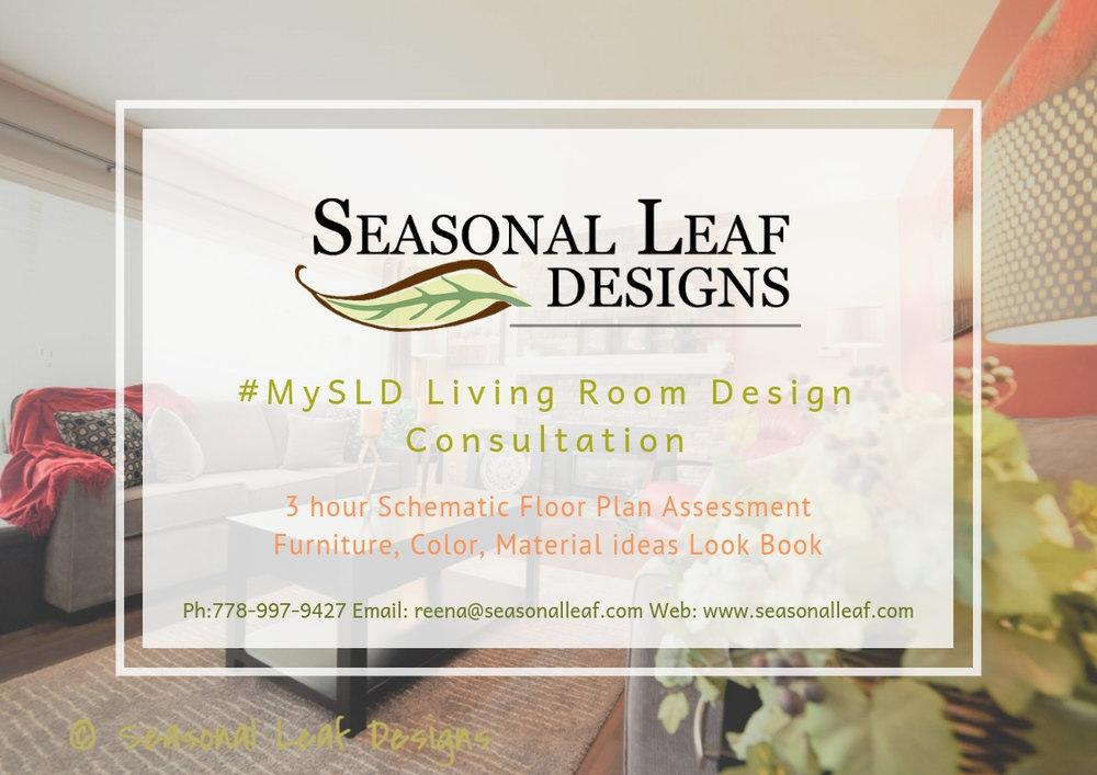 Living Room Design Consult