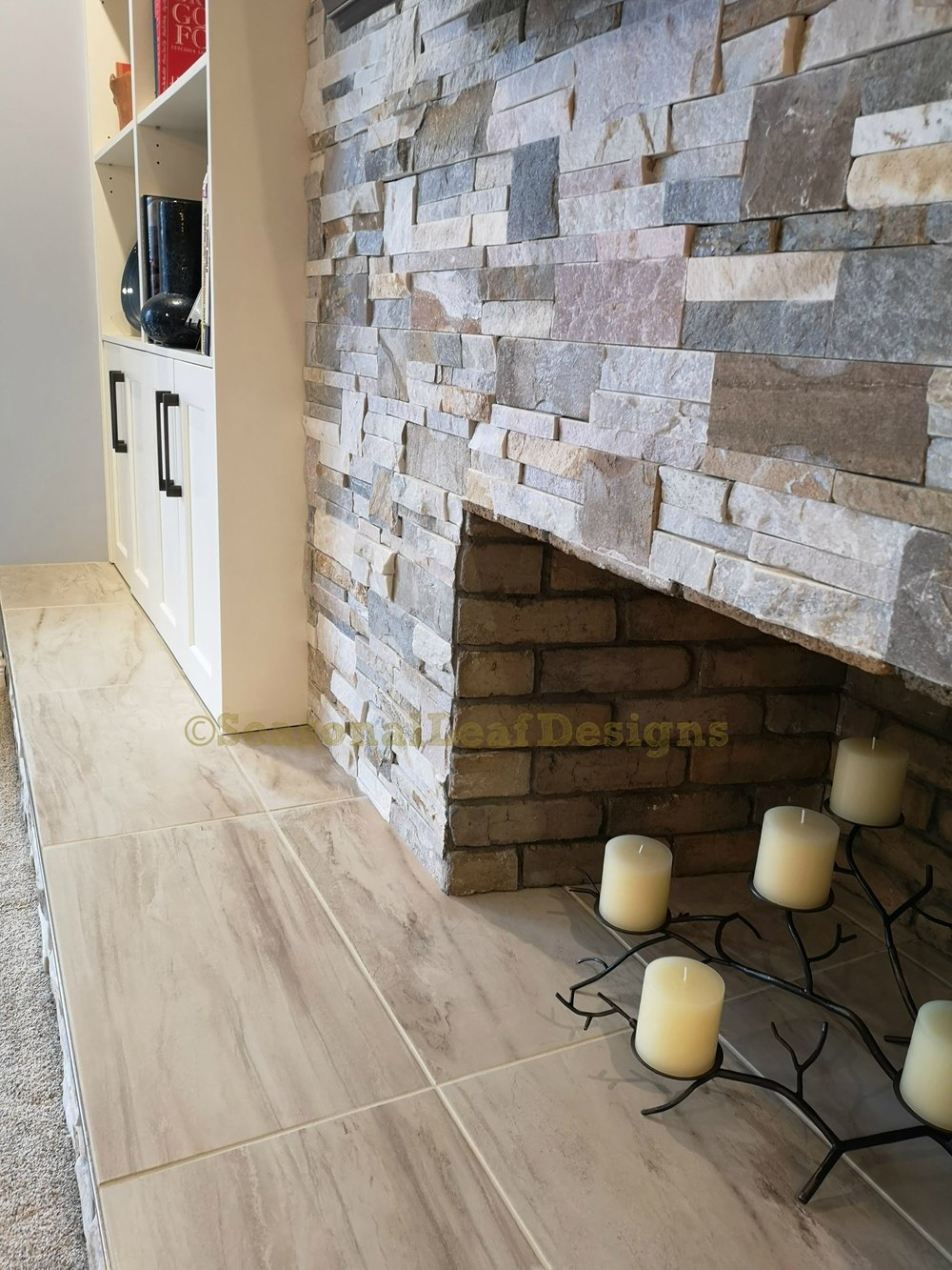 Fireplace Wall Hearth Seating