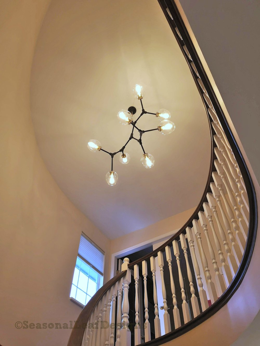 Staircase details and lighting