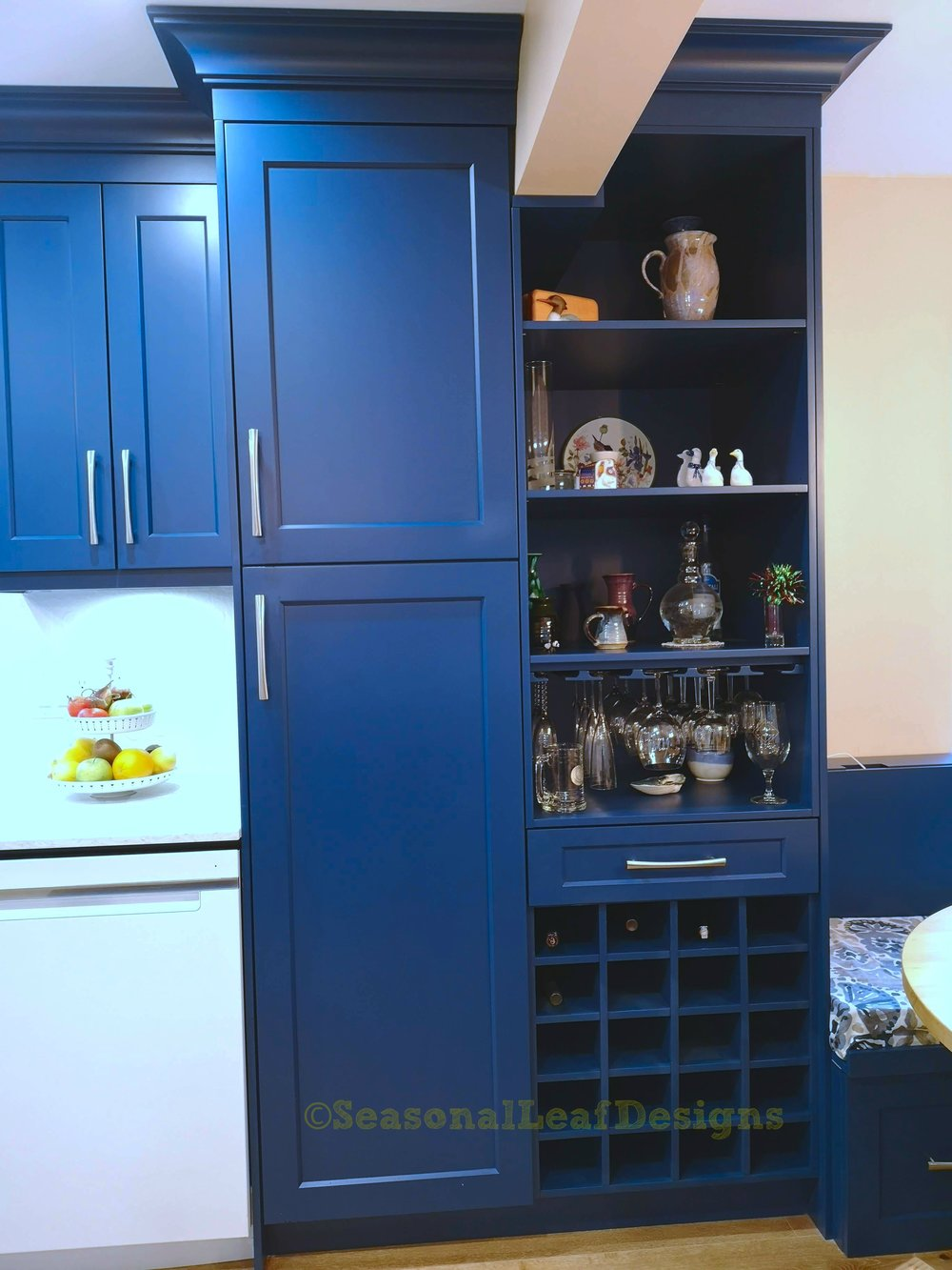 Kitchen Design Bar Cabinet