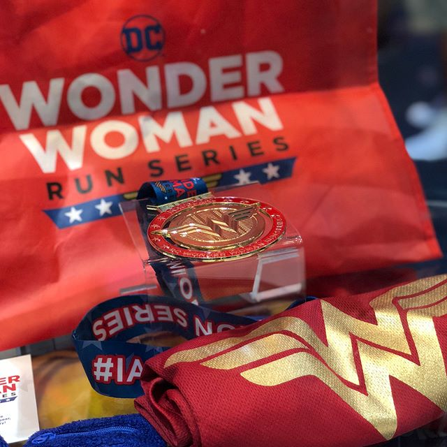 Comic-con has landed in San Diego! If you're attending, be sure to check out the @dccomics booth (#1915) for a first look at the #DCWonderWomanRun medal designed by yours truly! 🏅❤️🏃🏽‍♀️ #sdcc2018 #comiccon #DCcomics #WonderWoman • • • #cblworld #cblmedals #medals #running #marathon #halfmarathon #10k #5k #runseries #women #healthy #fitness #runforthebling #superhero #comics
