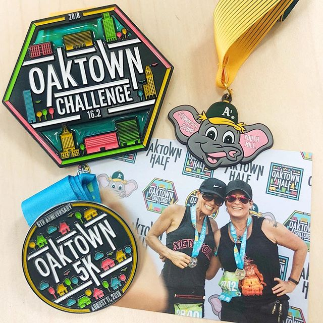 Congrats to everyone who participated in the #OaktownHalf last weekend ⭐️🌳🐘 . . . #cblworld #cblmedals #medals #running #halfmarathon #runforthebling #fitness #healthy #training #runningmotivation #kidsrun #5k #half #miles #run #instarunners #runningcommunity