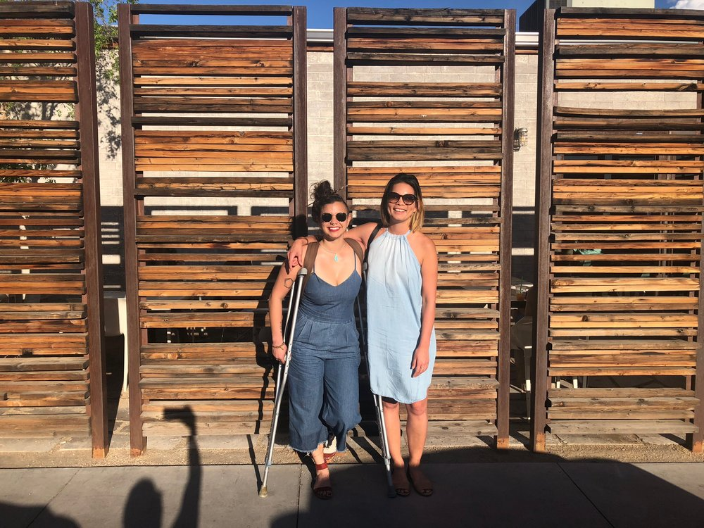Photo by kind stranger, Lux Central, Phoenix, AZ 2018