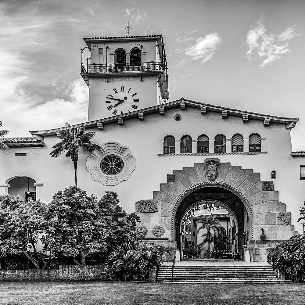 California santa barbara courthouse