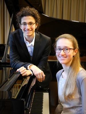 Romain Carl und Theresa Heidler