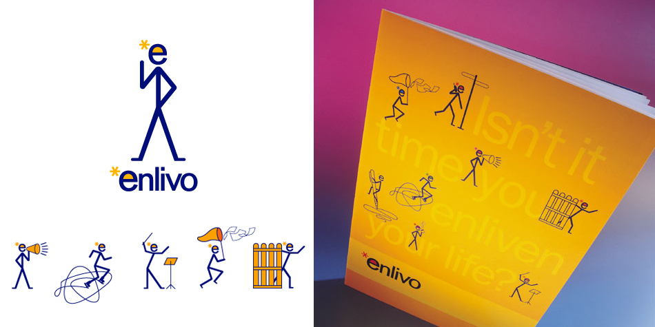 Enlivo Stationery
