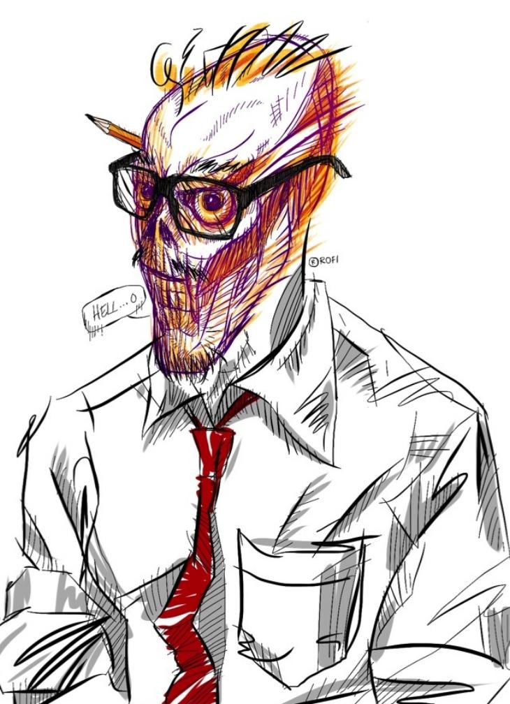 The Birth of Mr. Sketchleton