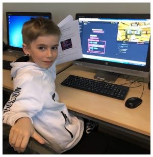 -Jag tror att jag vill jobba som IT-konsult som pappa. -Rasmus, Asklandaskolan 3A.