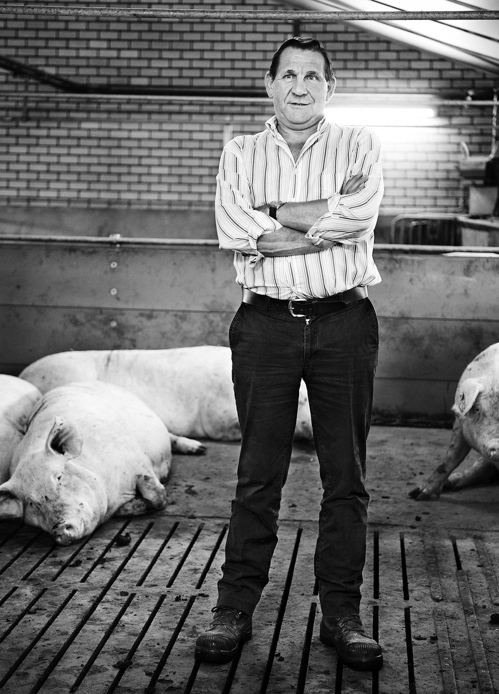 Pig Farmer Harry Henst 2/6