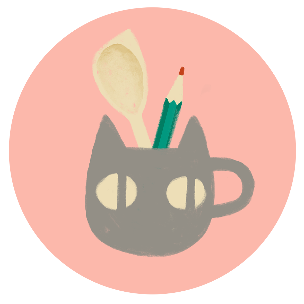 Kaffekatten grafisk design & illustration
