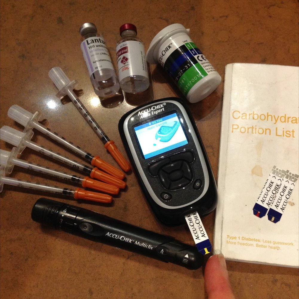 Diabetes daily care kit