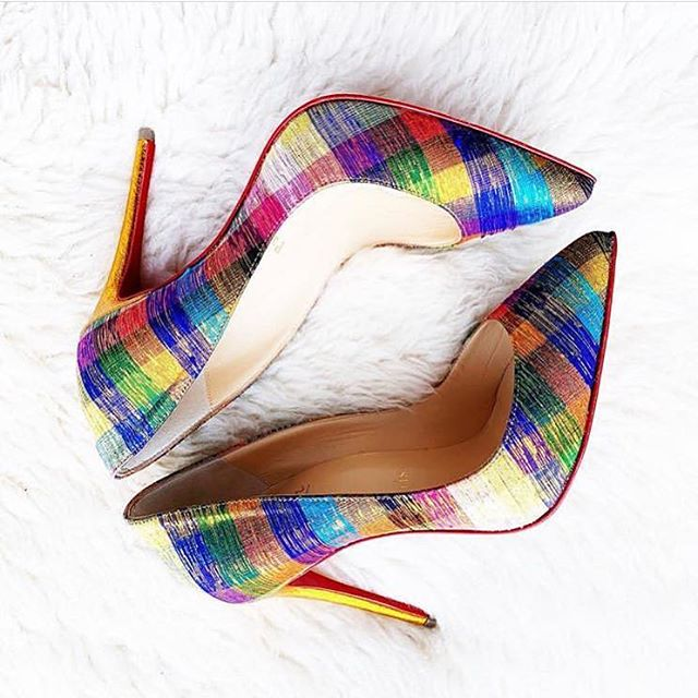 We love this fantastic shot of @closetofshoes latest @louboutinworld purchase from @matchesfashion. Make sure you tag us in all of your #HackneyWalk pick ups! 🌈