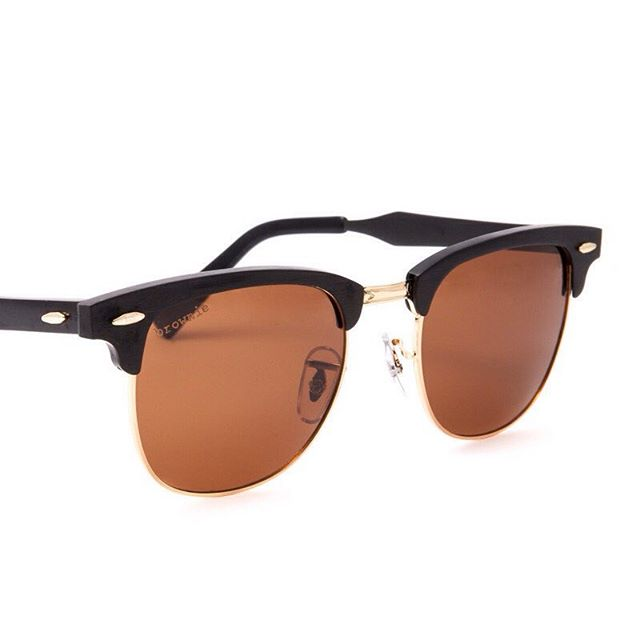 Rose gold rims + polarized brown lenses + metal frames. Get yours now at BrownieSunglasses.com  Your purchase provides one person in Bali with an eyesight restoring cataract surgery!