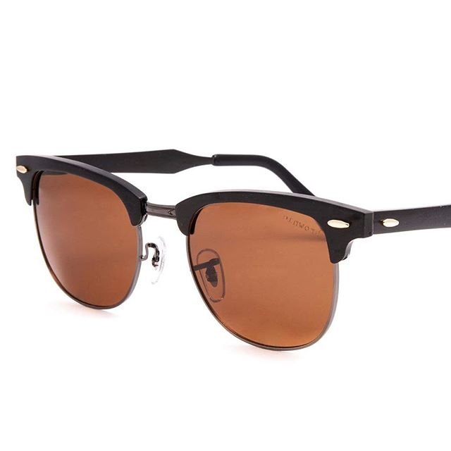 Our polarized brown lenses put a filter over your world that makes you feel relaxed. Brownies are like an Instagram filter for your eyes! Each par of sunglasses is crafted with strong metal frames and adjustable metal temples for an easy fit. Our double clasped metal hinges mean your new sunglasses will last a lot longer than a trey of brownies. 😉 With every pair sold one person receives an eyesight restoring cataract surgery! Look good. Do good. Feel good. #BrownieEffect Get yours at BrownieSunglasses.com