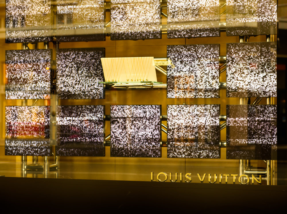 Louis Vuitton • Le Bon Marche 2015