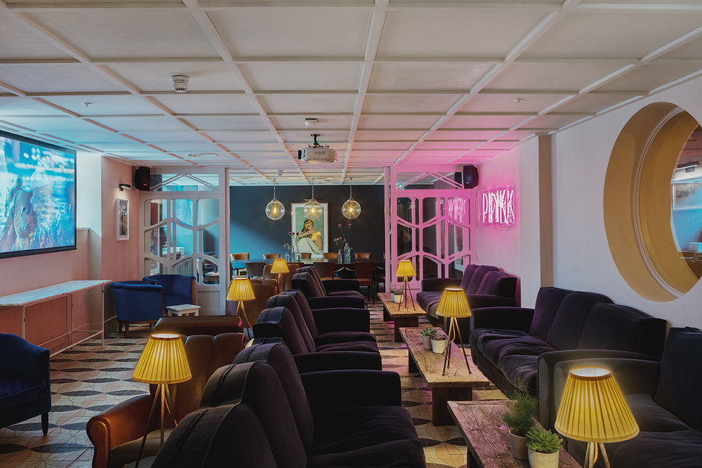 CINEMA ROOM - Screenings for up to 30 and drinks for up to 50