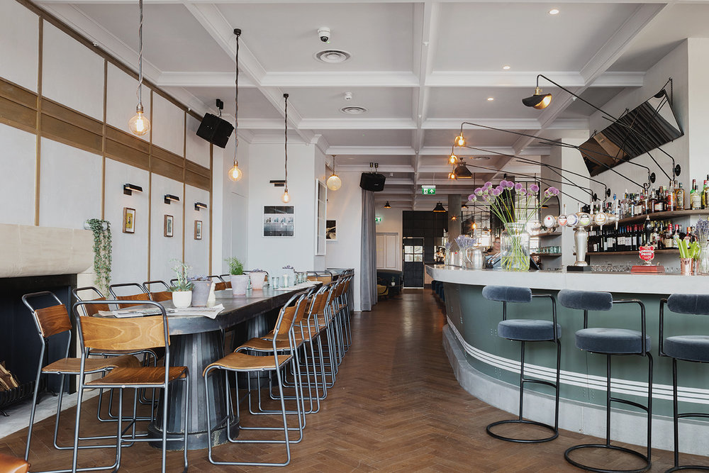 MAIN BAR - Drinks and dining for up to 60