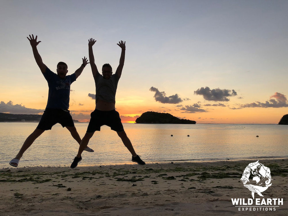 'Jumping for joy' - Philippines - Wild Earth Expeditions