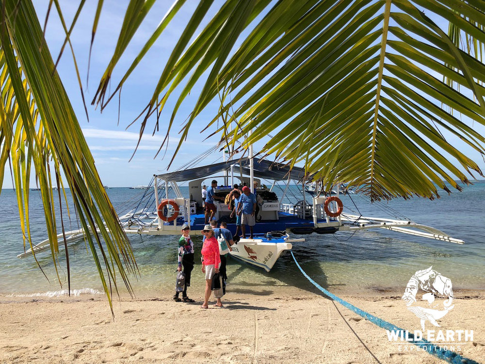 Daily dive boat, Malapascua Island - Philippines - Wild Earth Expeditions