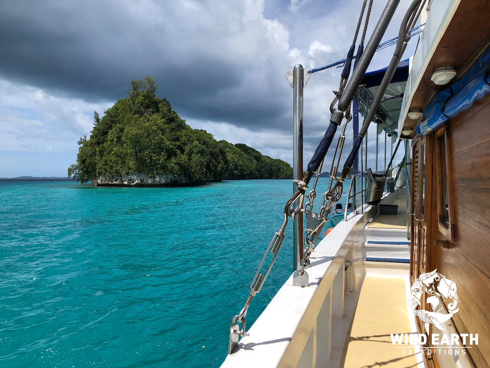 Sailing - Palau - Wild Earth Expeditions