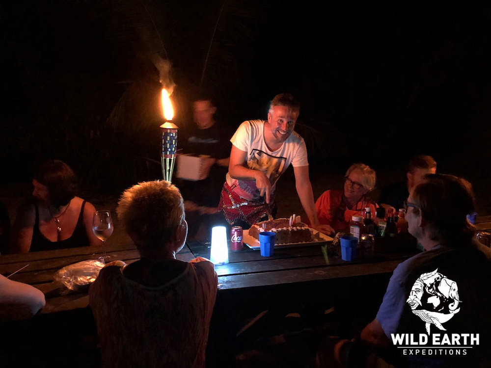 Andreas birthday BBQ - Palau - Wild Earth Expeditions