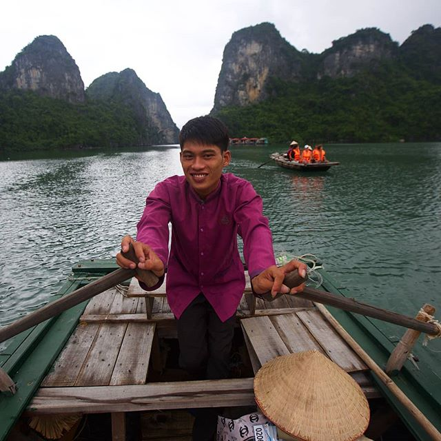 With its emerald waters and thousands of towering limestone islands all covered in lush greenery, Halong Bay is a beautiful area that is now recognised as a UNESCO site and if often called one of the 7th wonders of the natural world.  Photo © Thomas Baechtold @WildEarthExpeditions from 2015 Vietnam, Cambodia and Laos Expedition . . . . . . #thewildearthexperience_vietnam#vietnam #MyVietnam #halongbay #ethnic #earthfocus #faces#yourshotphotographer #instagram#TLPicks #tribalculture #photography#peopleinnature#TheWildEarthExperience#WildEarthExperiences#WildEarthExpeditions#travelthroughthelenses#travellingthroughtheworld #wildearth