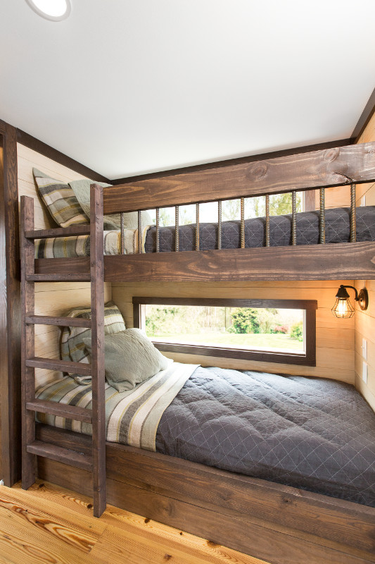Bunk Beds of the Alexander Tiny House